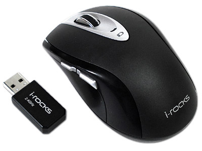 RF-7550A 2.4 GHz Cordless Optical mouse